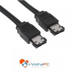 Cable ESATA a ESATA de 1mt para equipos externos