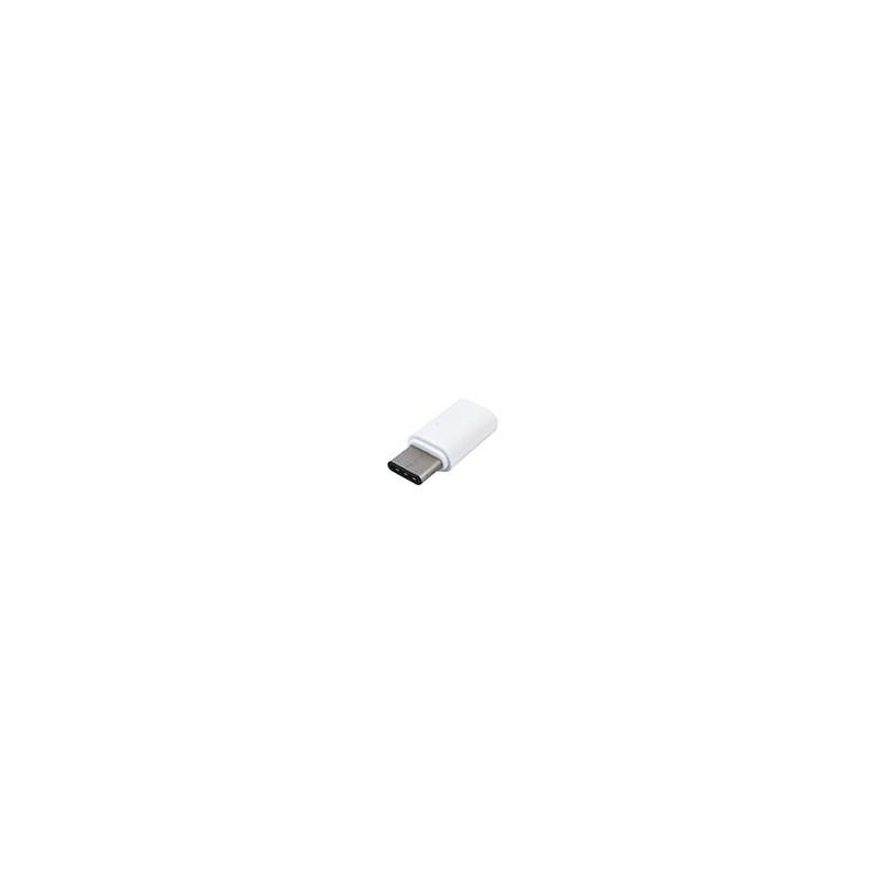 Adaptador USB-C 3.1 Type C a Micro USB Macbook Celulares Tablet