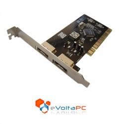 Tarjeta Controladora PCI eSATA x 2