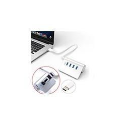 HUB 4 Puertos USB 3.1 Type-C a USB 3.0