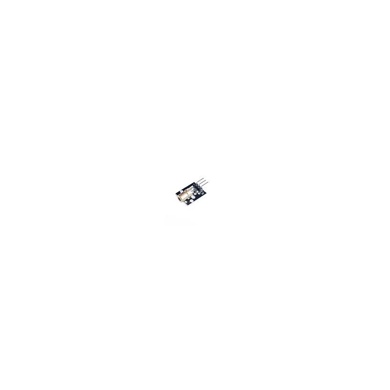 Modulo Sensor Diodo Laser 5mW Rojo 650nm 5V Arduino
