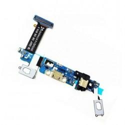 Flex de Carga USB para Samsung S6 Jack Audio Botones Capacitivos