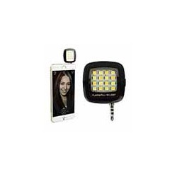 Flash Celular Iphone Samsung Selfie 16 Leds Externo Portátil