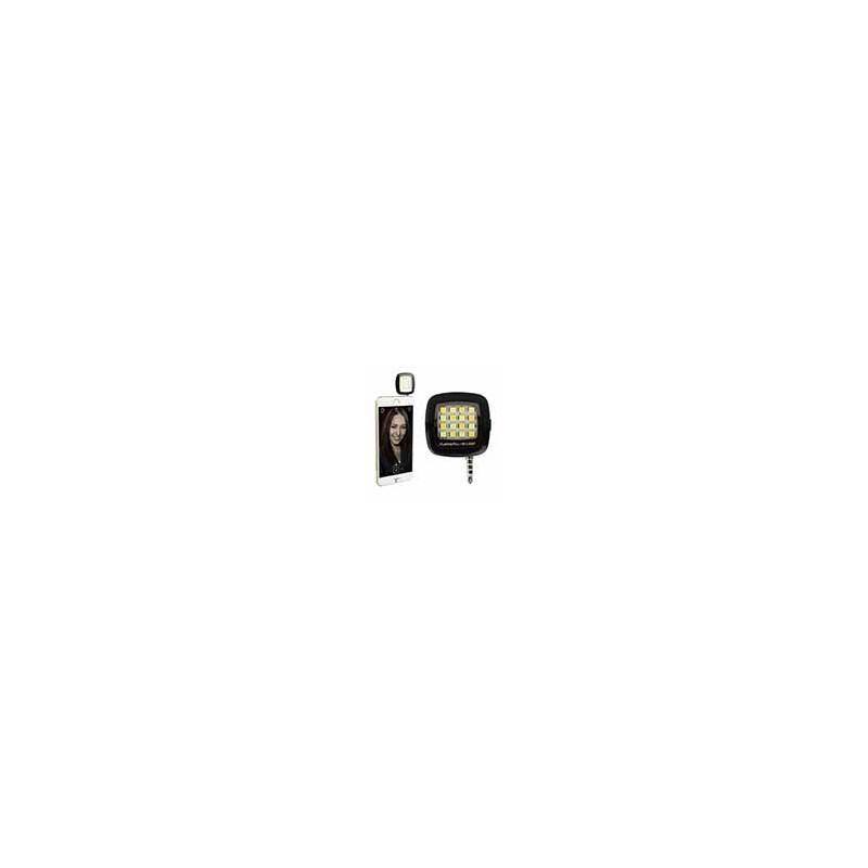 Flash Celular Iphone Samsung Selfie 16 Leds Externo Portátil