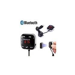 Transmisor FM Bluetooth Manos Libres A2DP Micro SD USB AUX