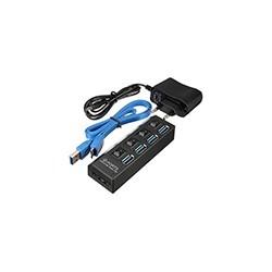 Hub USB 3.0 4 Puertos Energizado Macbook Notebook PC
