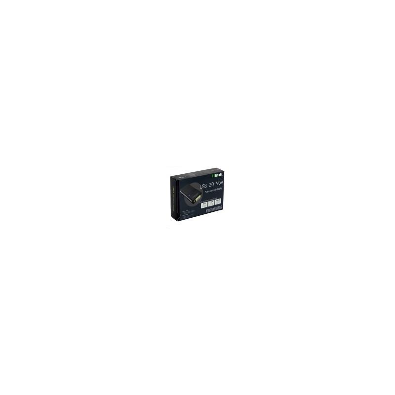 Adaptador Ulink USB a VGA HDMI Multi Display Win Mac Linux