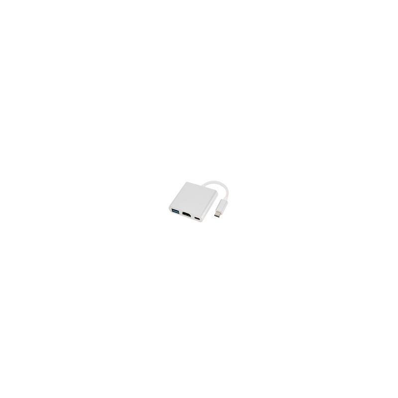 Adaptador USB 3.1 USB-C a HDMI USB 3.0 New Macbook 12 XPS13