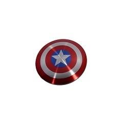 Bateria Externa Avengers Escudo Capitan America USB 6800Mah PowerBank