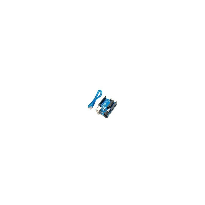 Arduino UNO R3  20 Resistencia 5 LED