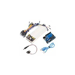 Kit Basico Iniciacion Arduino Uno Microcontrolado