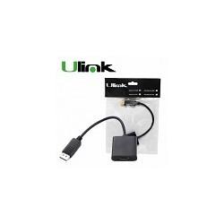 Adaptador Display Port Macho a HDMI Hembra