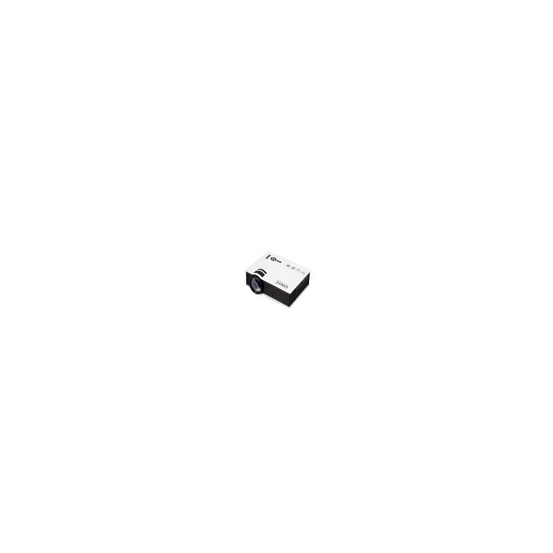 Mini proyector 3D UC40+ Multimedia Digital LED Full HD 1080P AV VGA USB SD DHMI UNIC