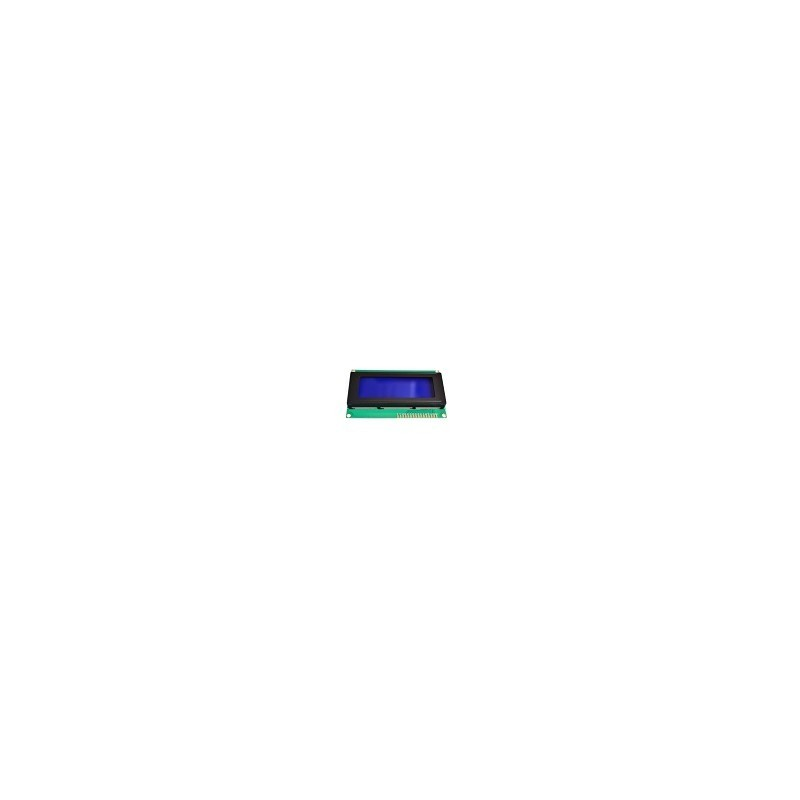 Modulo LCD Arduino 1602 Azul Blanco IIC/I2C Sin serial