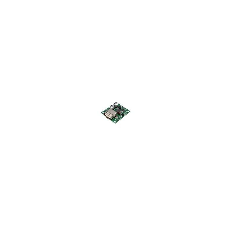Regulador de Voltaje de Panel de Carga Solar USB Para Celular 6V 20 V In 5V 2A Out IOS Android