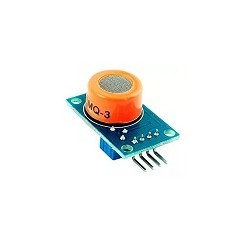 Sensor de Gas Alcohol MQ3 Arduino Raspberry